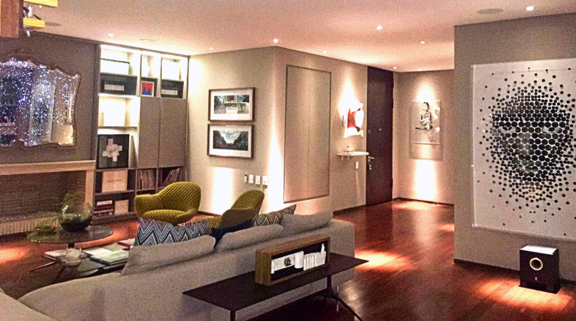 Espacio interior de la galería Casa MAP